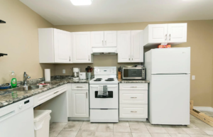 accessibility full kitchen modification in London, Ontario