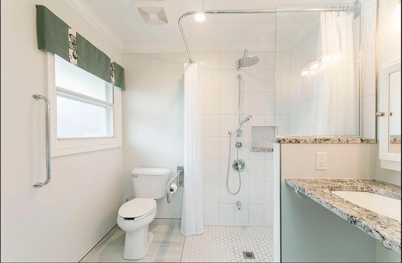 accessibility construction bathroom